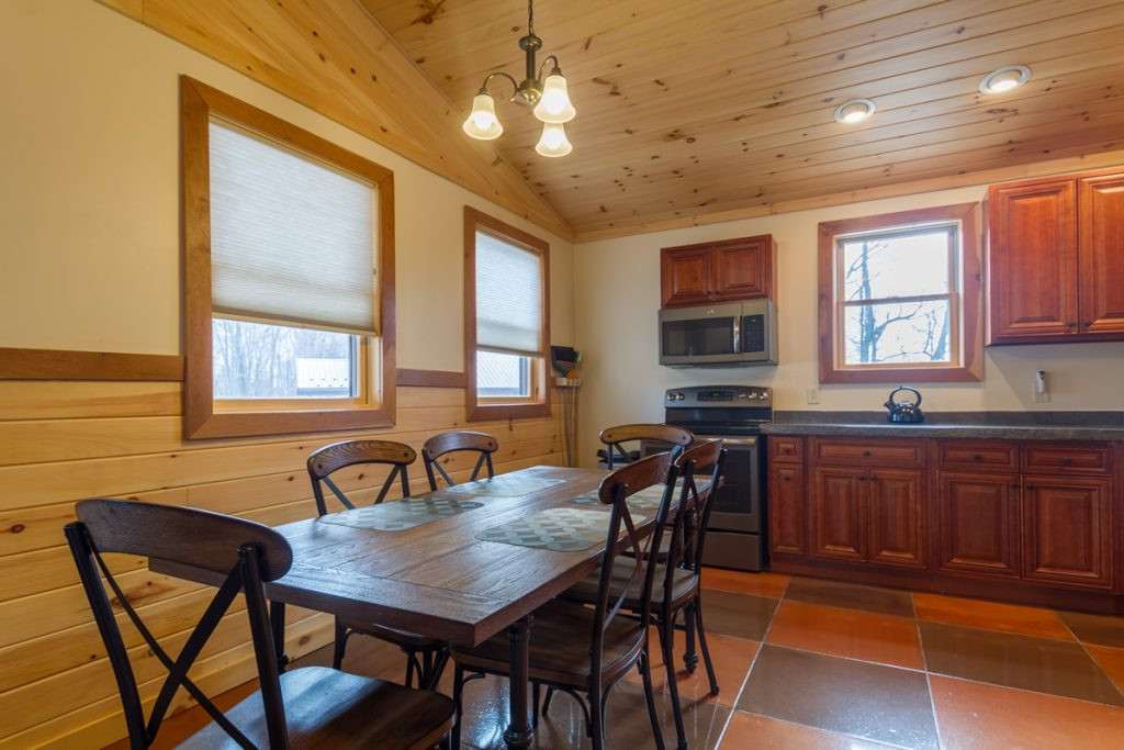 Cabin A Dining Table seating 6