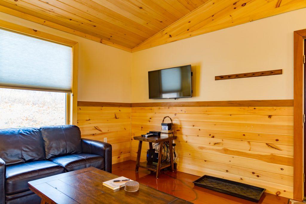 Cabin A Flat screen TV