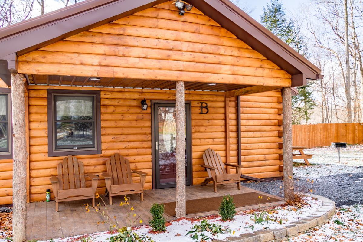Accommodations Cabin B Cayuga Lake Cabins