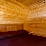 Cozy quiet bedroom in Cabin B
