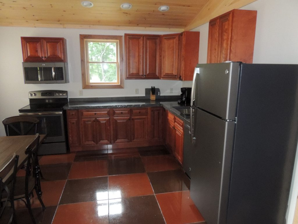 Rental with full kitchen