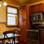Dining area and Kitchen Cabin B