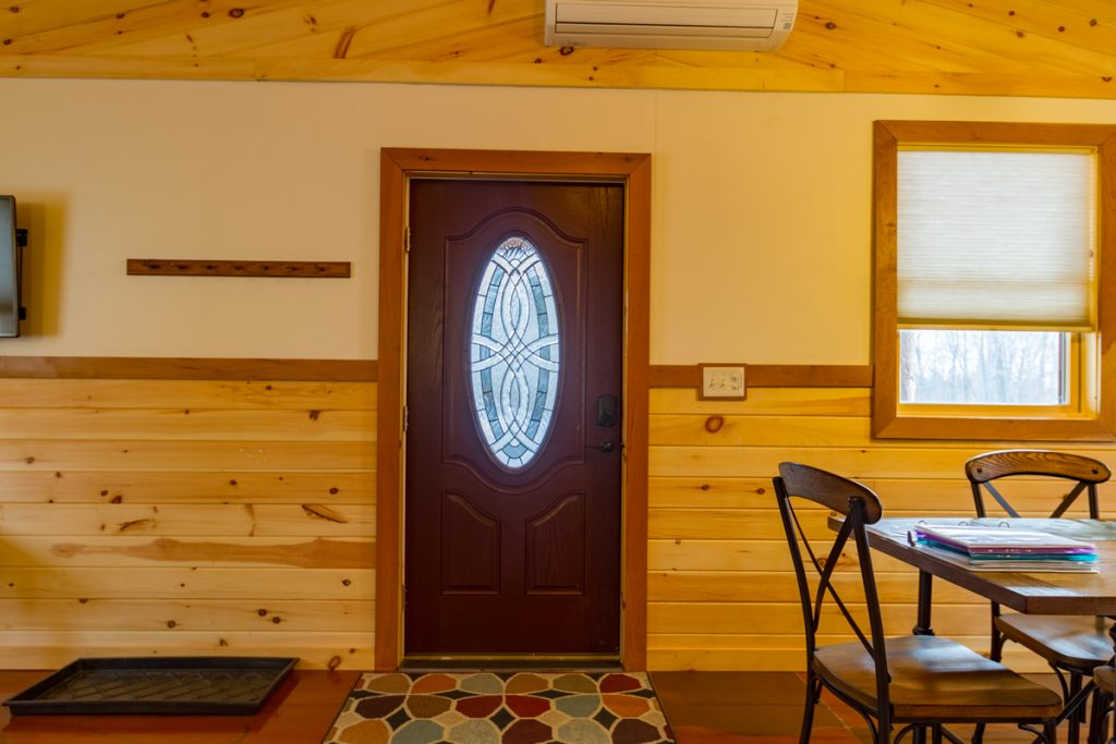 Front Entrance Cabin A