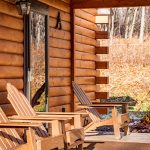 Front Porch of Cabin A