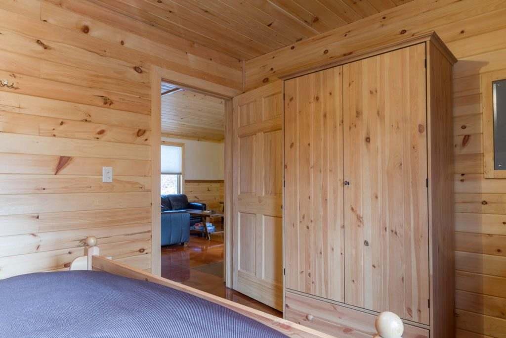 Knotty Pine Bedroom Cabin A