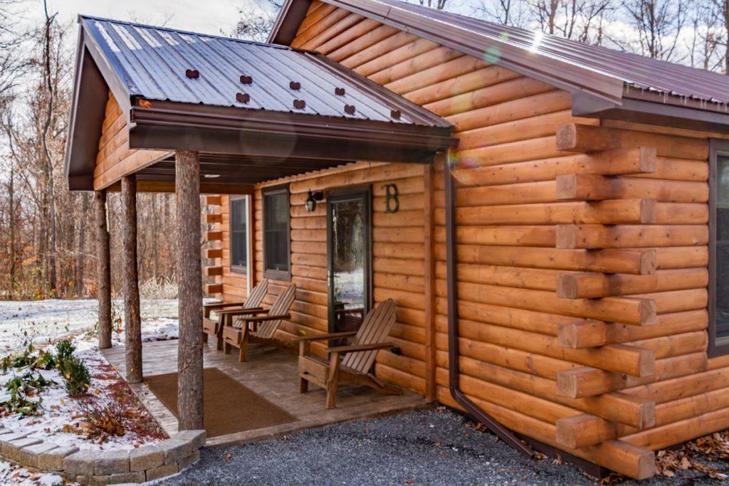 Log Cabin Siding Cabin B