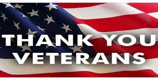 Veterans and active duty military personnel – thank you for your service!